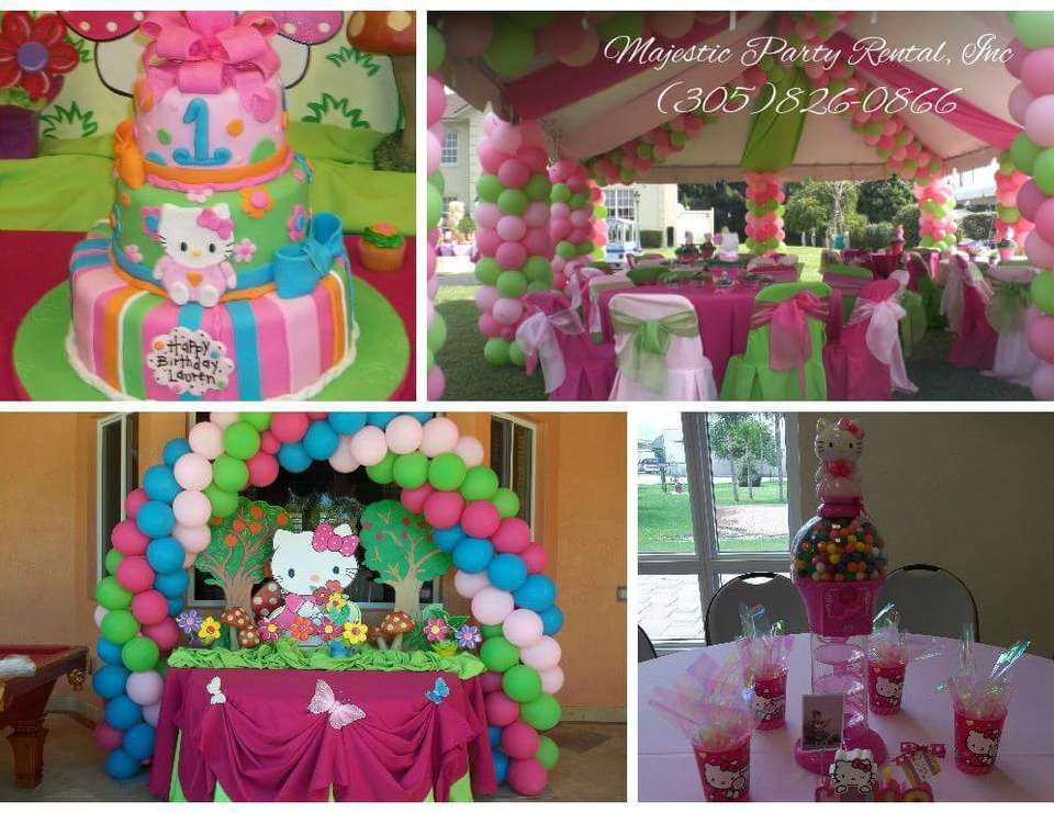 Tent Decoration For Girls Birthday Party