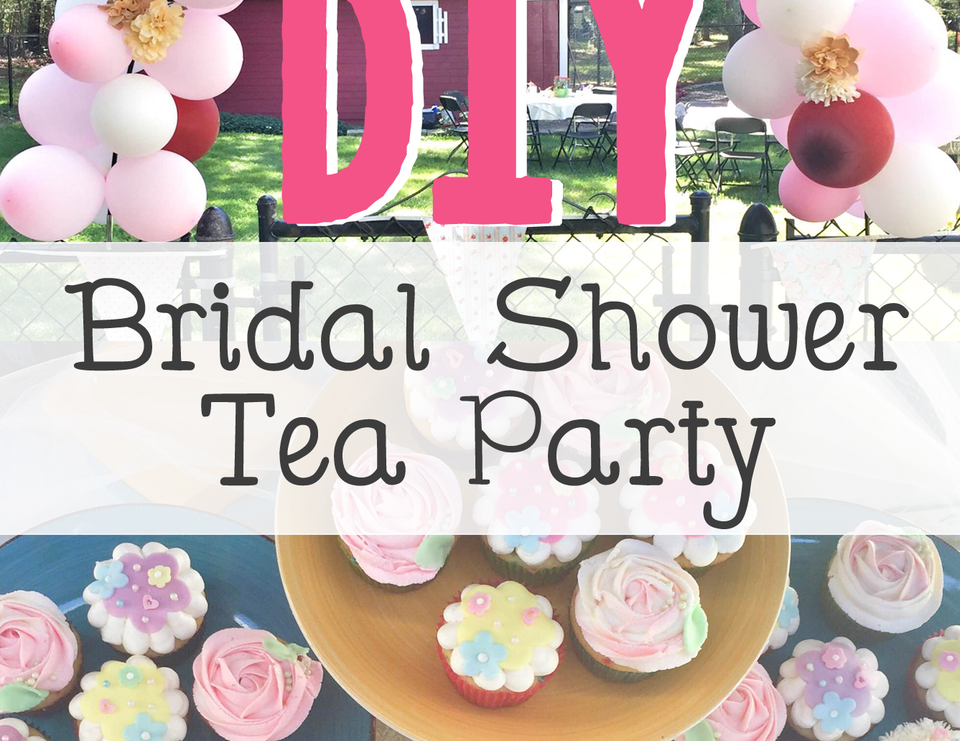 diy bridal shower tea party shabby chich tea party