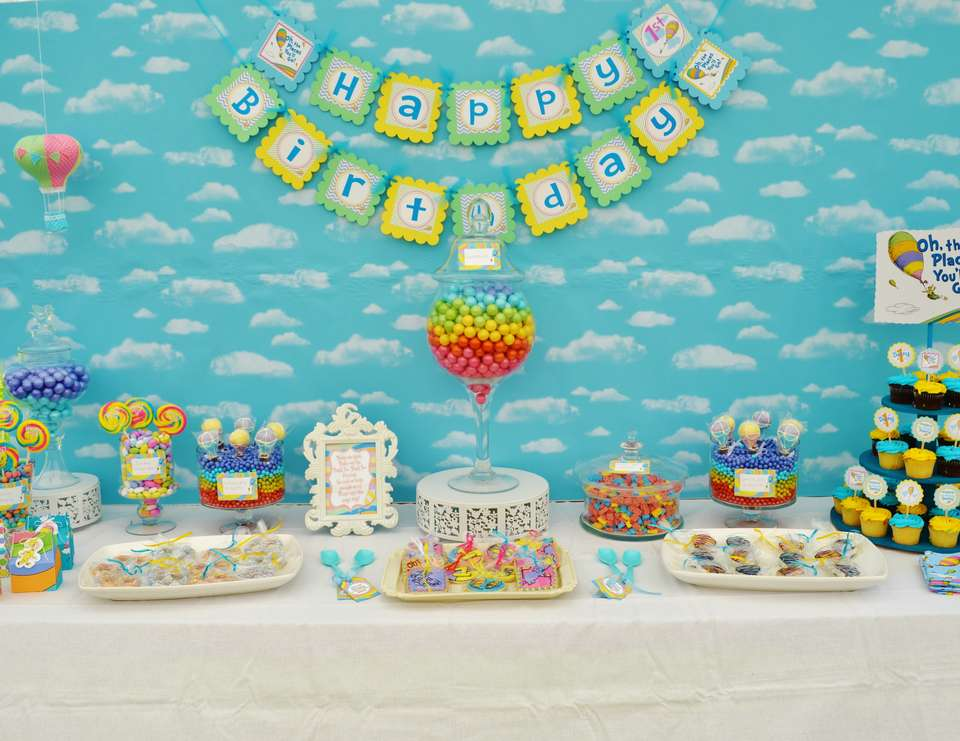 Oh The Places You Ll Go Cake Decorations