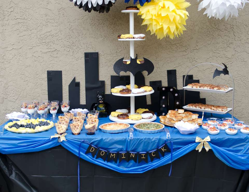 Baby Batman Baby Shower Batman Baby Shower Catch My Party