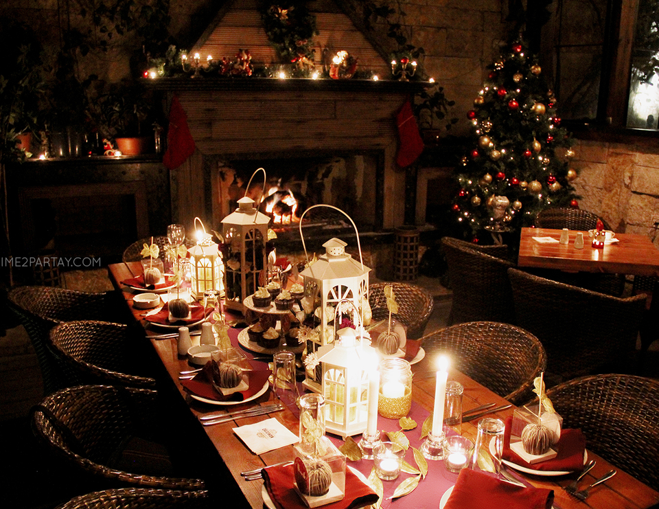 Rustic birthday a rustic glam birthday dinner catch for Best dinner party ideas