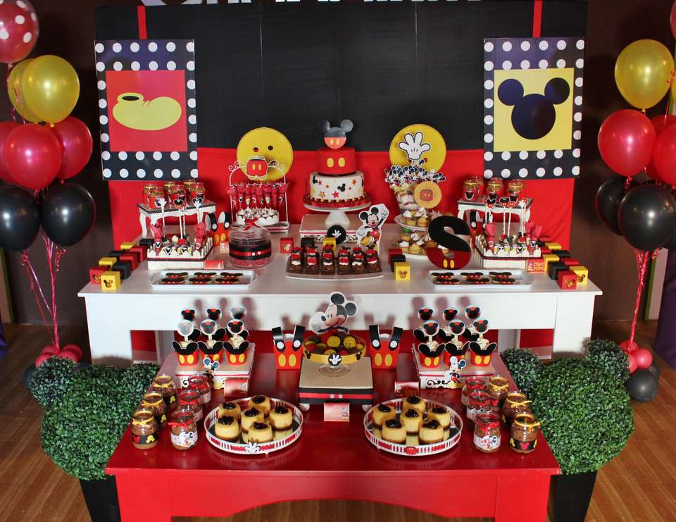 Mickey Mouse Birthday Quot Mickey Mouse Party For Santiago