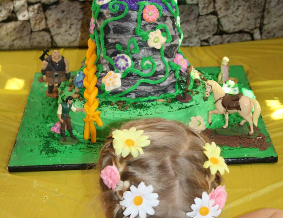 Tangled 4th Birthday - Rapunzel / Tangled