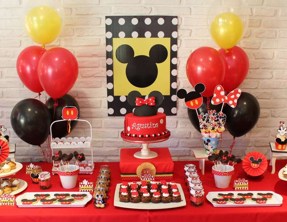 mickey mouse minnie mouse birthday minnie mickey. Black Bedroom Furniture Sets. Home Design Ideas
