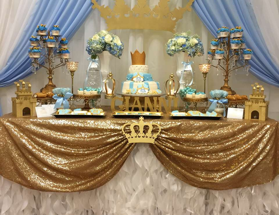 Gianni's royal baby shower -  Prince