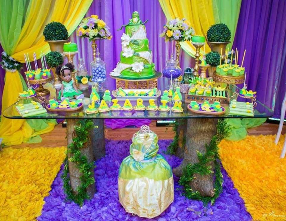 Princess And The Frog Baby Shower Decorations