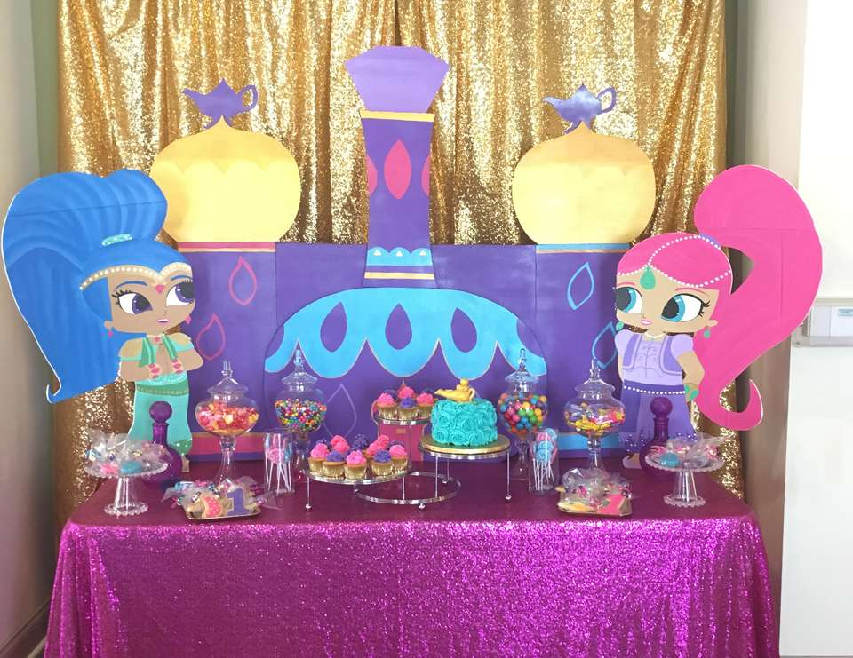 Shimmer And Shine Birthday Quot Sya S Shimmer And Shine 1st