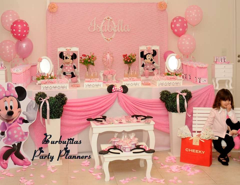 Isabellas Minnie Birthday Party