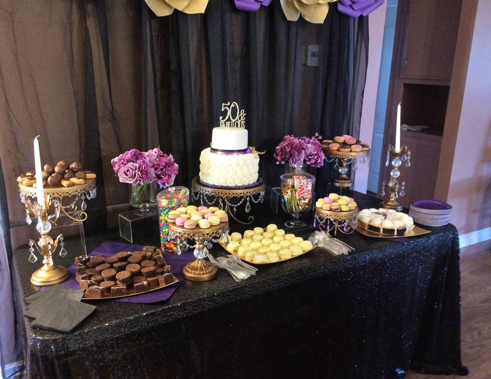 Sheri Big 50th bash - Gold, Purple and Black