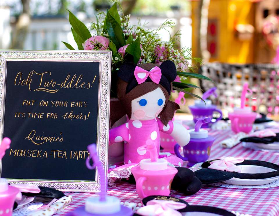 Quinnie's Mouseka-Tea - Minnie Mouse Tea Party