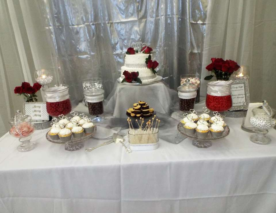 Ruby And Silver Wedding Quot 40th Anniversary Party Quot Catch