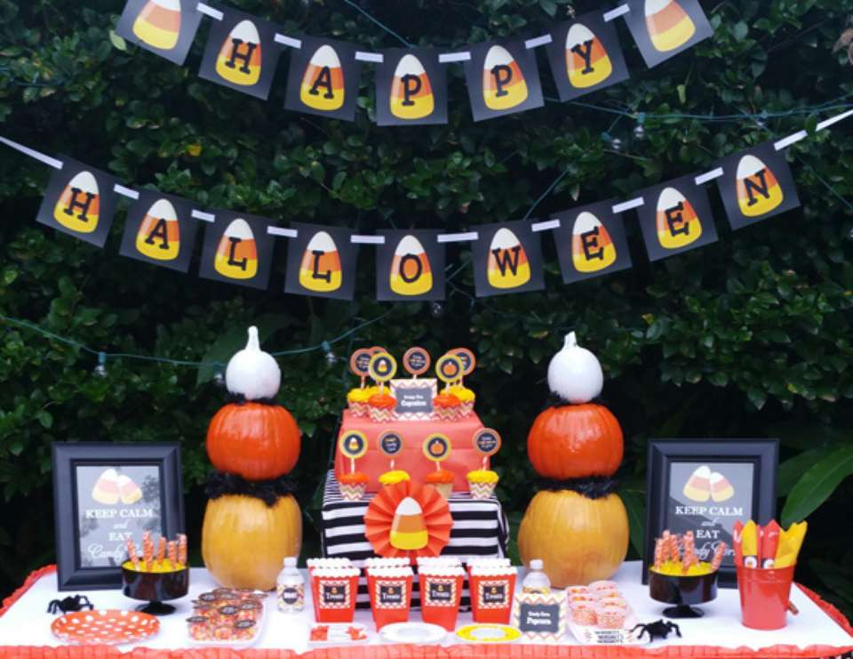 Candy Corn Halloween Bash - Candy Corn