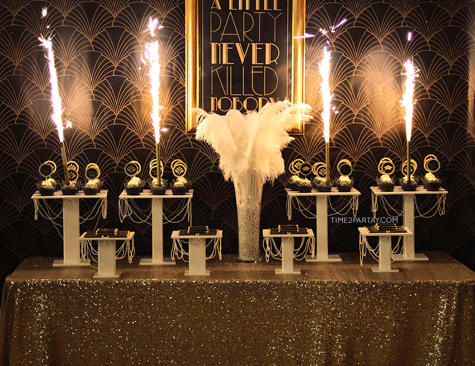 1920s gatsby party decorations images for Great decor
