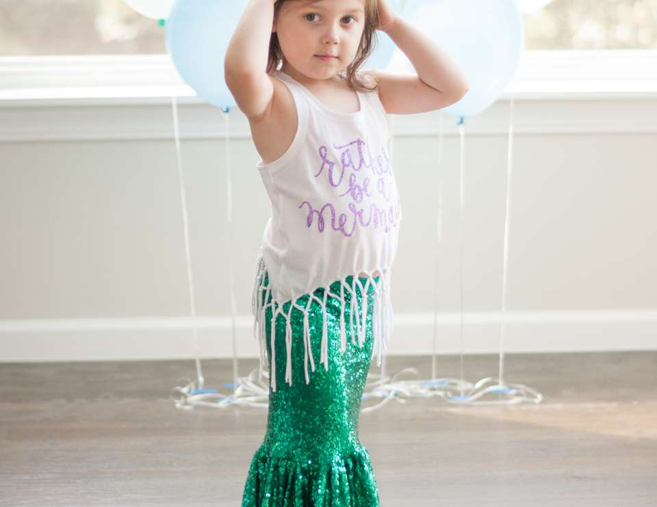 Mia's Mermaid 4th Birthday - Mermaids
