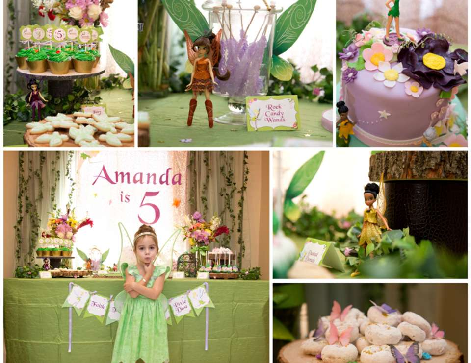 Tinkerbell birthday party - Tinkerbell