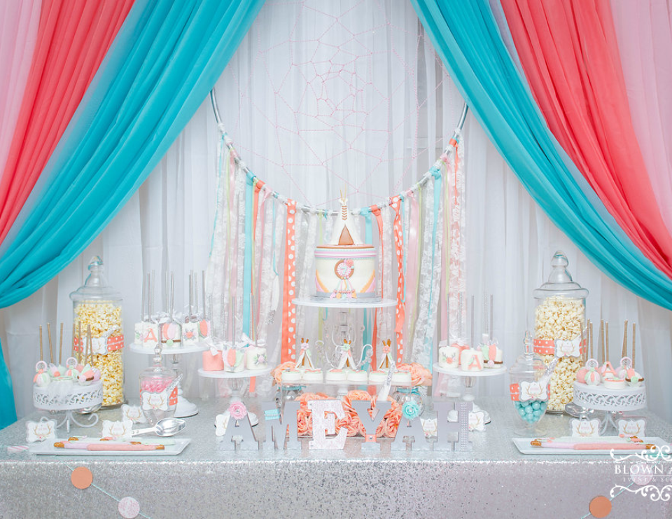 Ameyah's Boho Princess Party - Princess