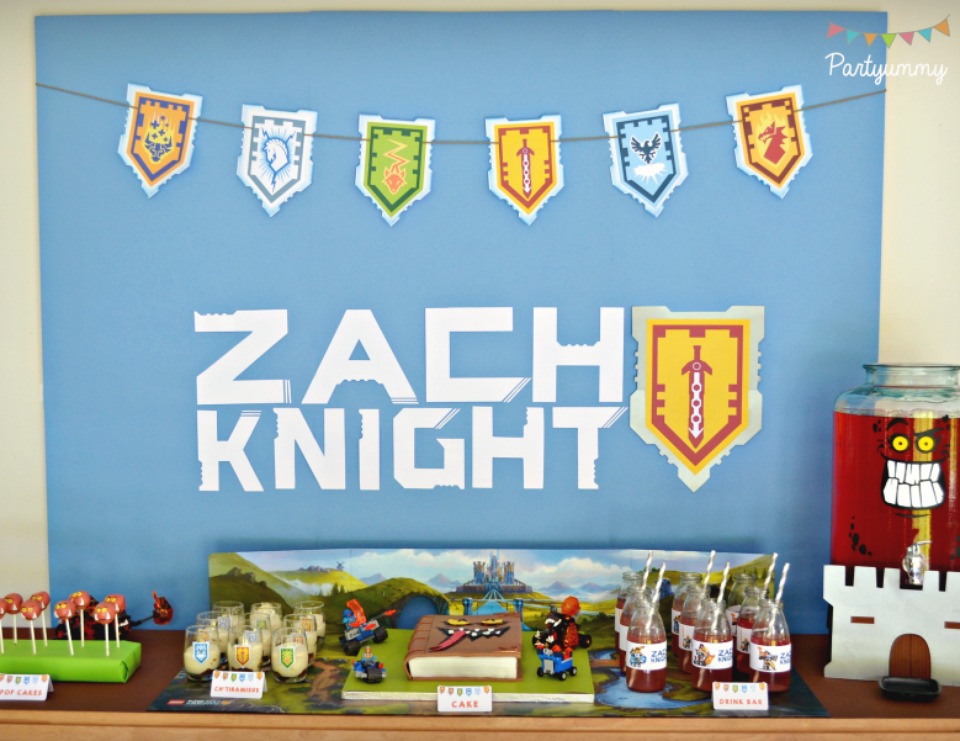 Lego Knights Party / Birthday