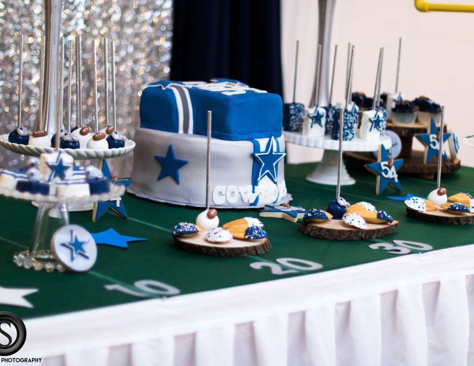 Dallas Cowboy Theme Baby Shower Football Sunday baby shower