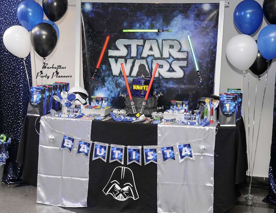 Bautista´s Star Wars Awesome Party - Star Wars