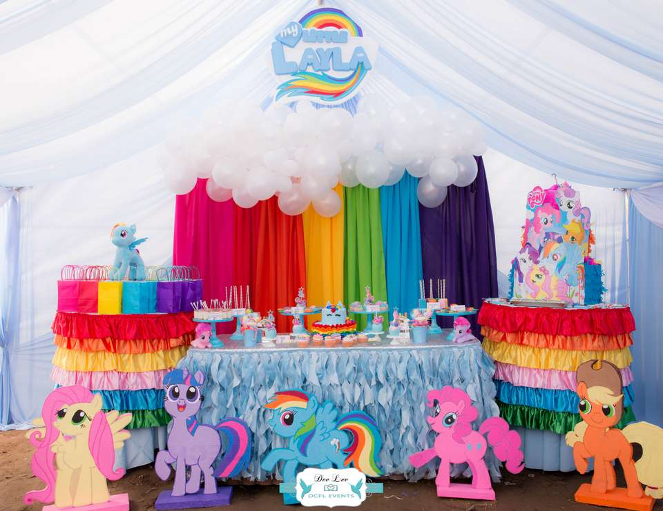 Laylas Rainbow Dash 3rd Birthday Party