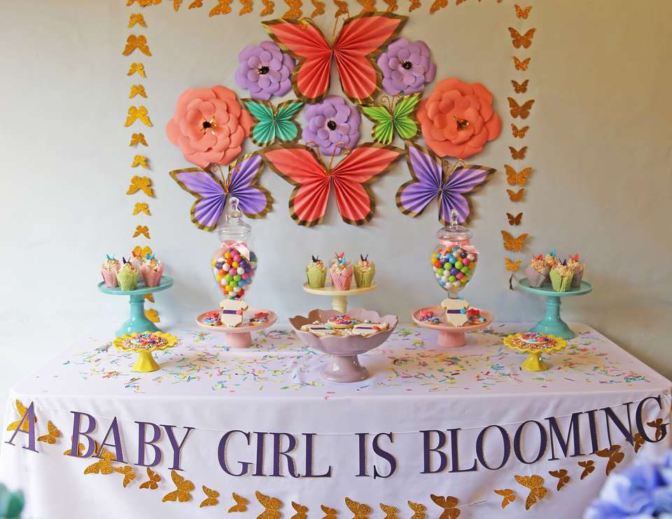 A Baby Girl Is Blooming - Spring