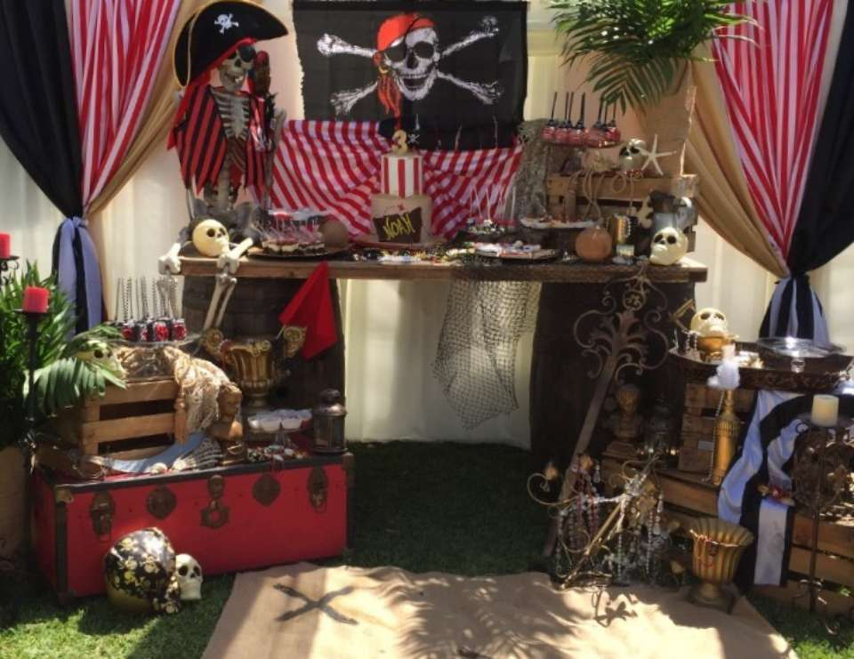 NOAH's ISLAND Pirate Party - Pirate / Island /Boys Party