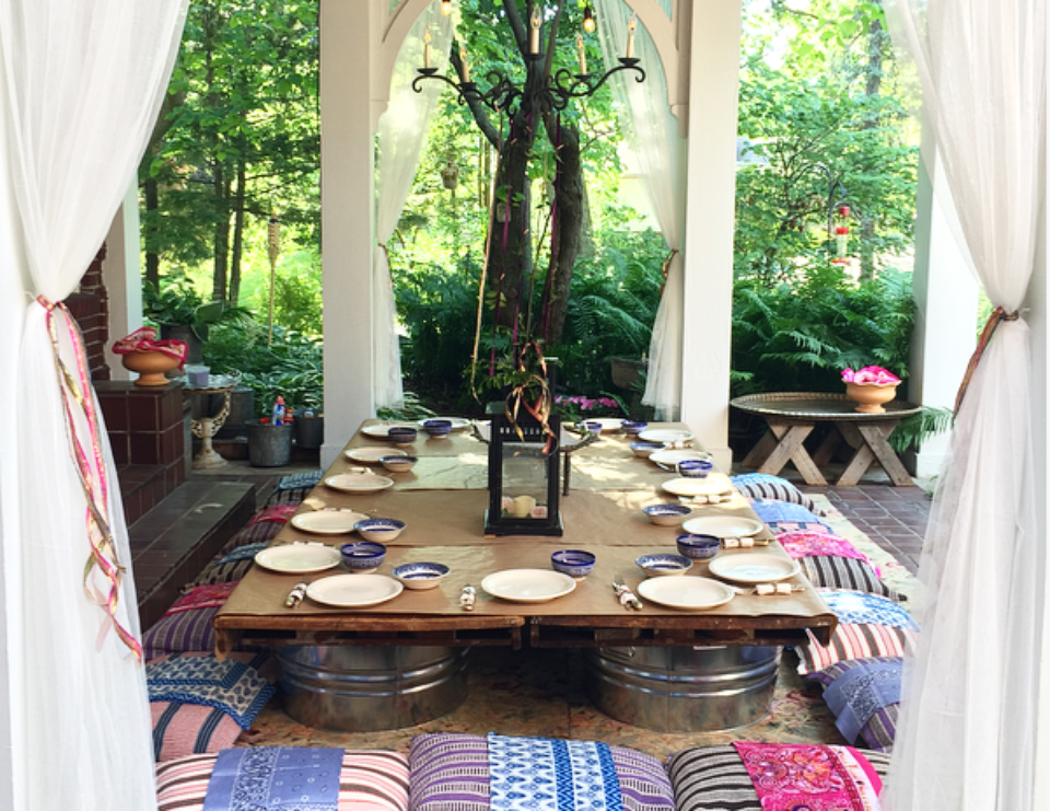 Graduation, Moroccan Style - Moroccan Dinner Party