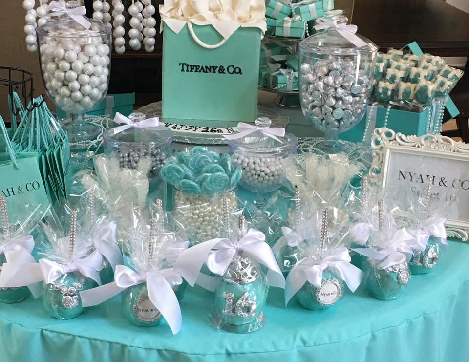 Tiffany Amp Co Birthday Quot Nyah S Tiffany Inspired Sweet 16