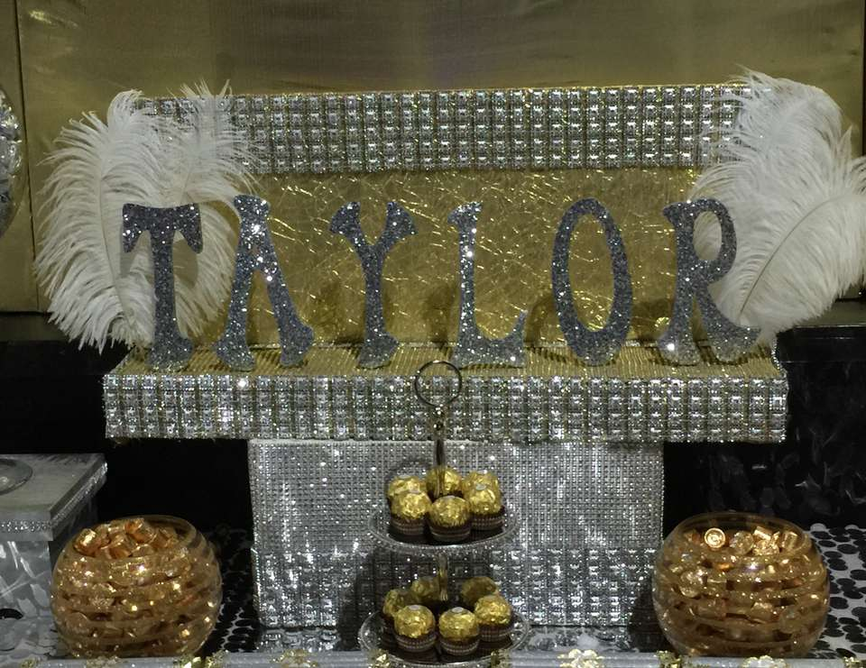 Taylor's Sweet 16 - Gold, Silver and White