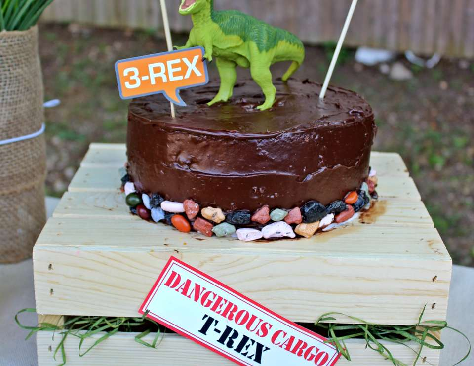 """Chase and Eden's Dinosaur Excavation Party"" - Dinosaurs"