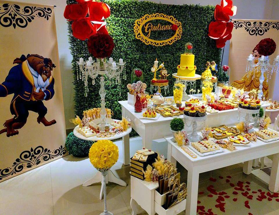 Belle birthday party - The Beauty and the Beast
