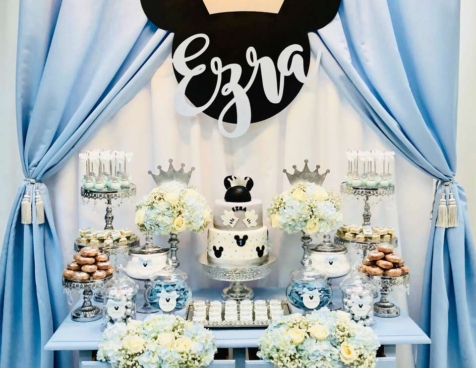 Ezra's Royal Mickey Mouse Party - Mickey Mouse