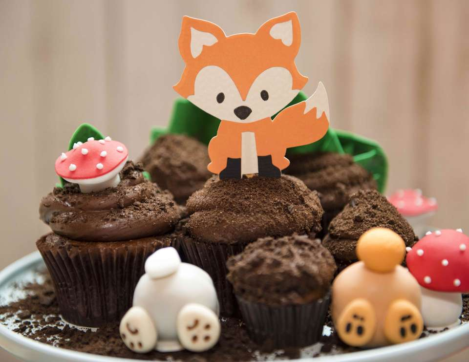 Little Fox birthday party - Fox