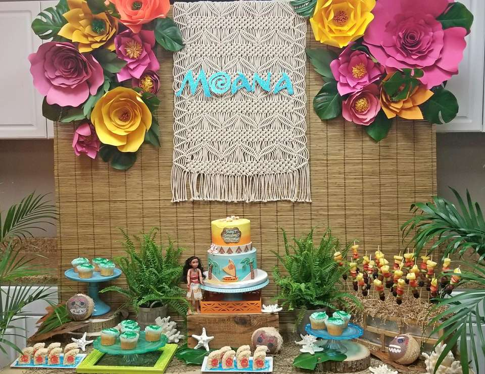 Moana Birthday Bash - Moana
