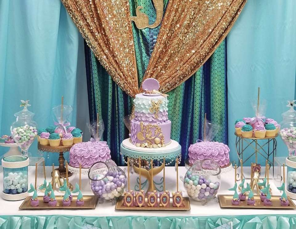 Princess Riley's Under the Sea Baby Shower - Under the Sea