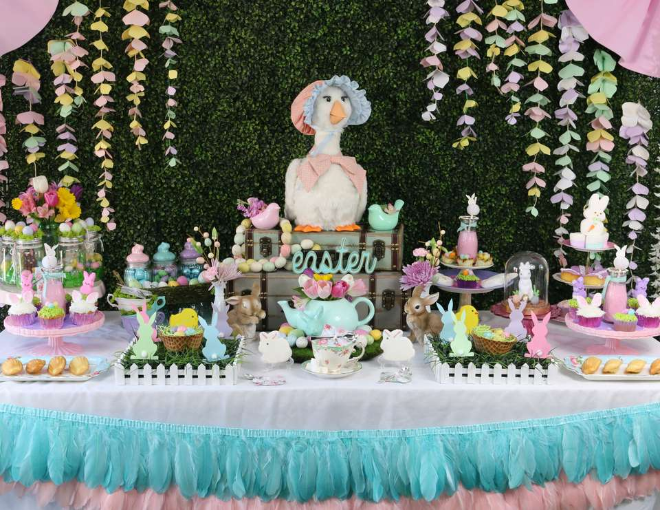 Easter Tea Party with Mother Goose - Mother Goose