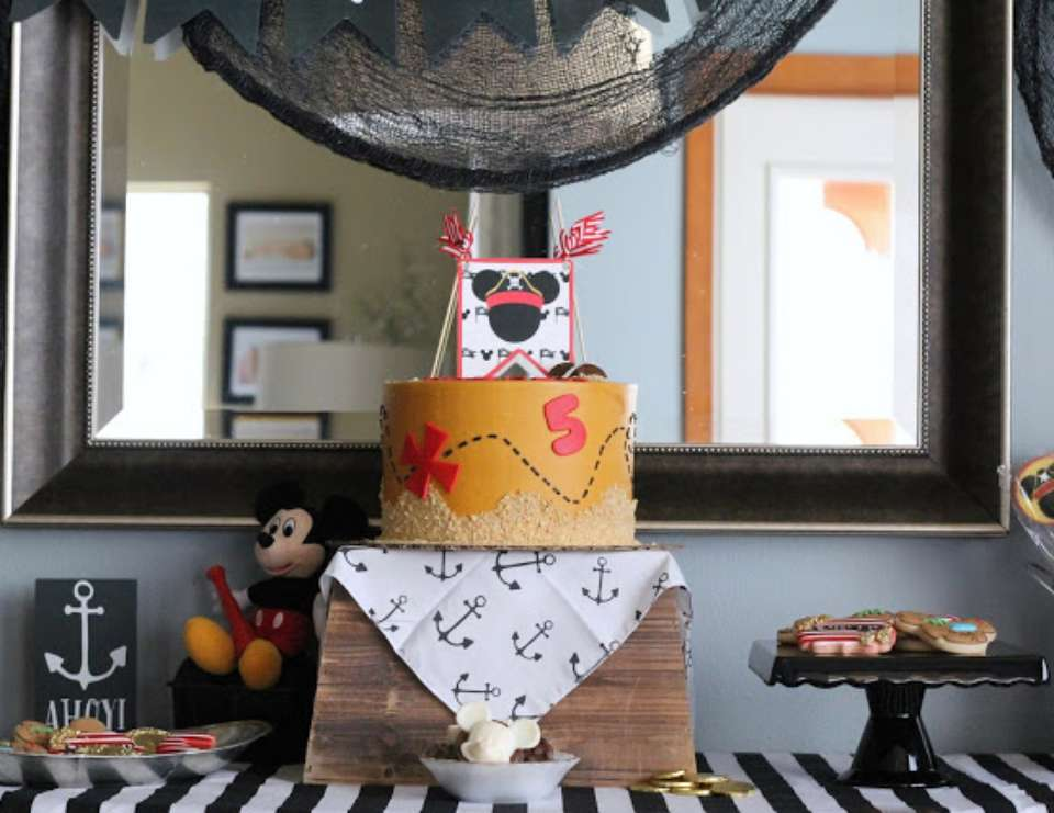Mickey Mouse Pirate Birthday Party - Mickey Mouse Pirate