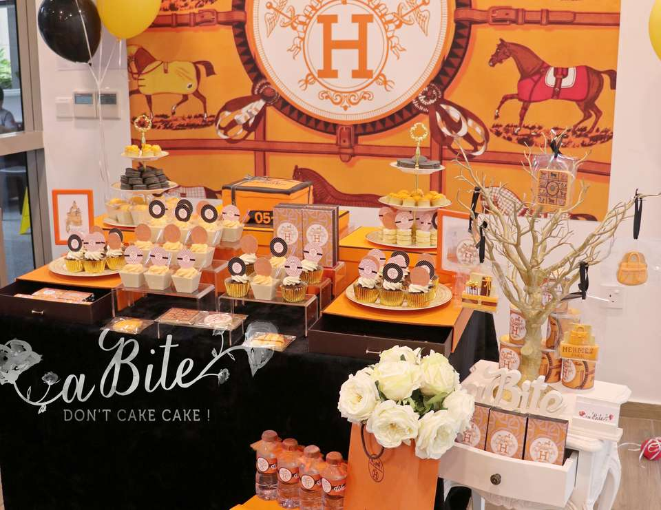A Hermes Inspired Housewarming Party! - Hermes