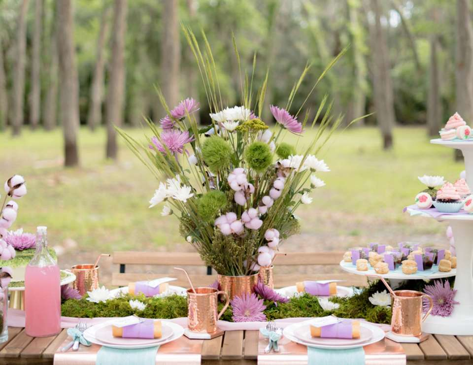 Mother's Day Picnic in the Park - Nature Inspired