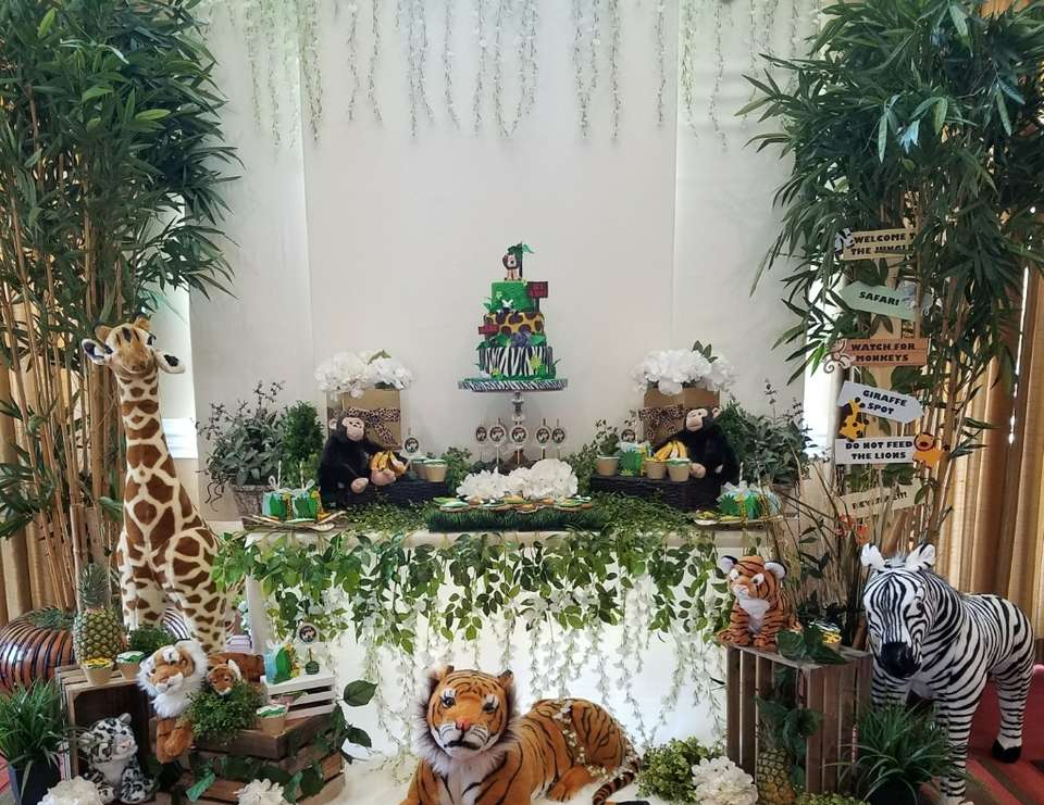 Safari Themed Baby Shower   Safari