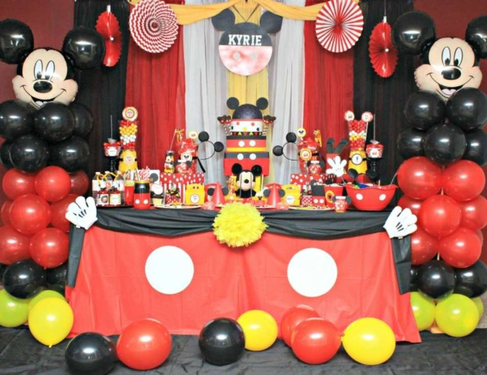 Kyrie's Mickey Bash - Mickey Mouse
