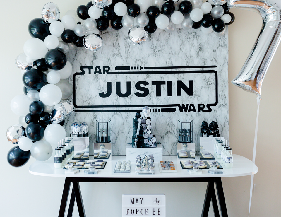 Justin's Star Wars Party - Star Wars