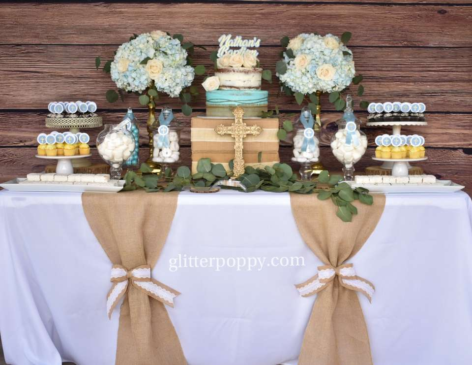 Nathan's rustic Baptism - Rustic Baptism