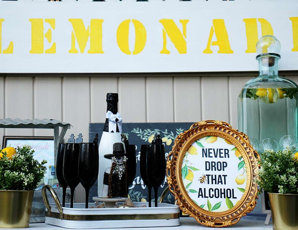 Beyonce Inspired Lemonade Bridal Shower - Lemonade / Lemons