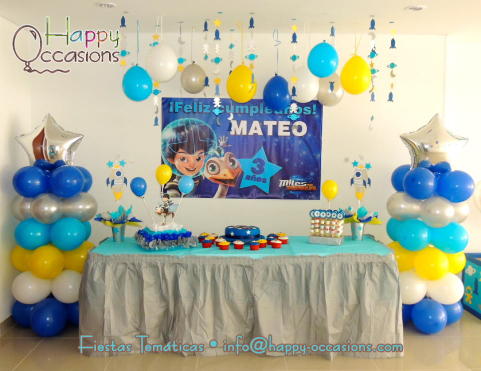 Mateo´s Miles from Tomorrowland 3th Birthday Party - Miles from Tomorrowland