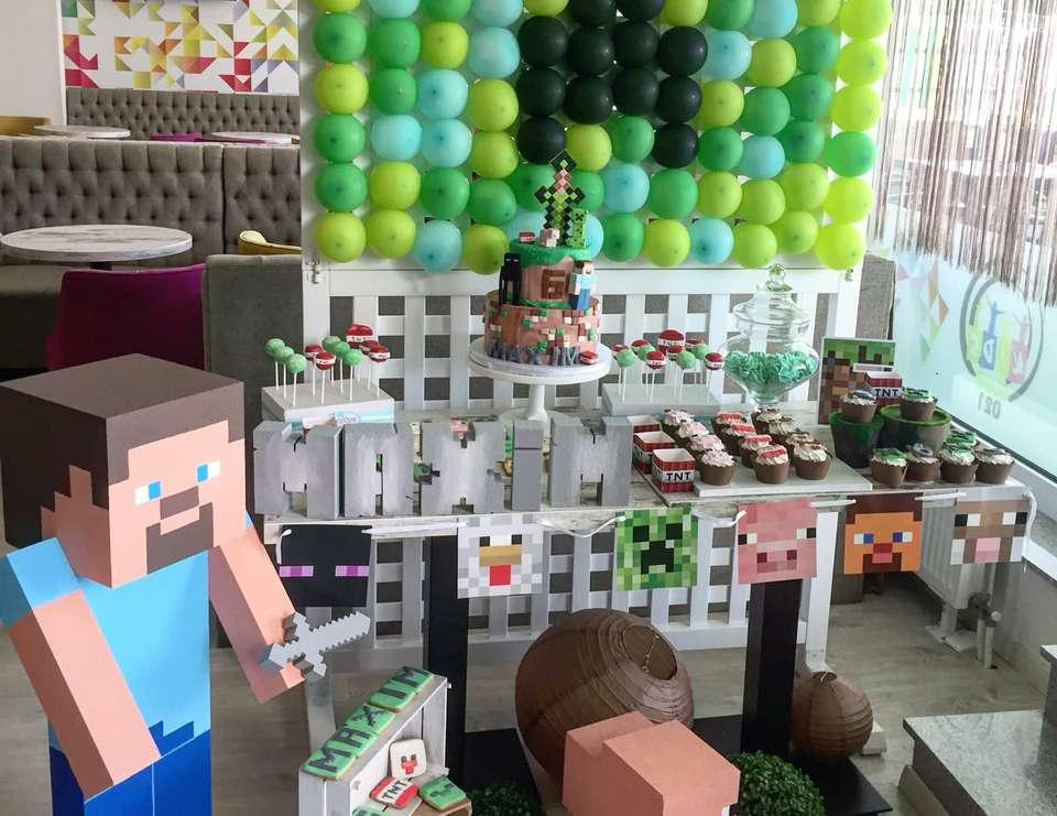 Maxim Minecraft party - minecraft