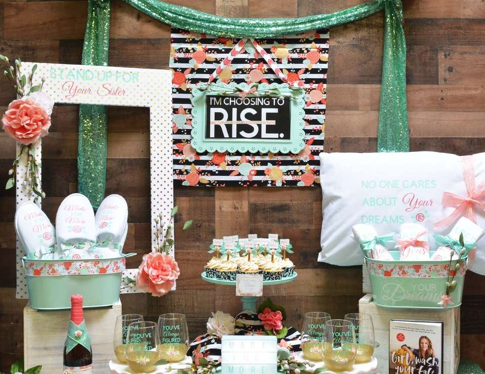 Made for More Movie Night - Rachel Hollis Inspired Ladies Night In