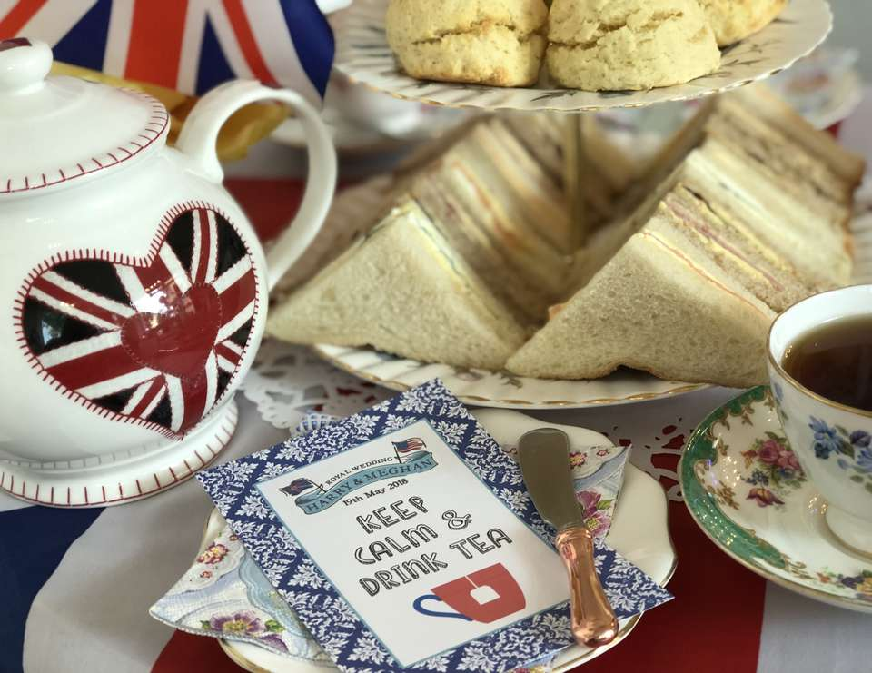 Royal Wedding High Tea Celebration - British