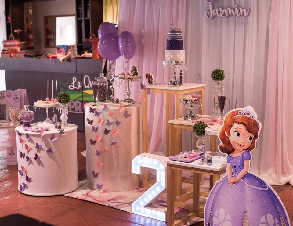 Princess Sofia birthday party - Sofia the First
