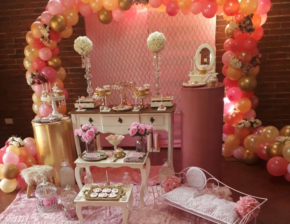 Shabby Chic 1st birthday party - Delfina cumple 1